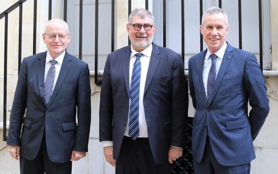 M. Louvel, M. Beynel et M. Molins