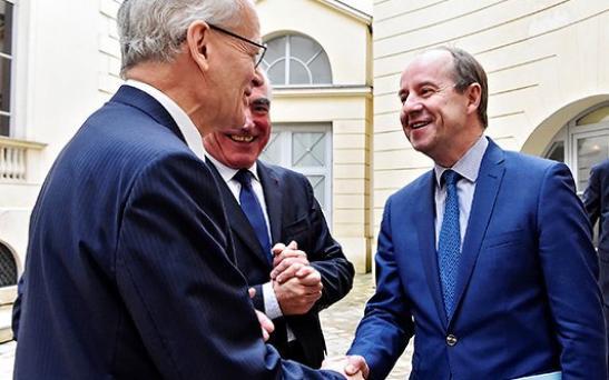 Visite de Jean-Jacques Urvoas
