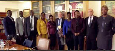 Délégation du CSM togolais