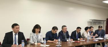 Délégation du Haut conseil judiciaire du Kazakhstan