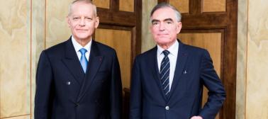 Bertrand Louvel et Jean-Claude Marin