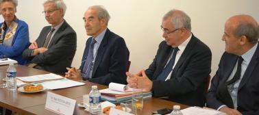 rencontre du CSM avec Robert Badinter