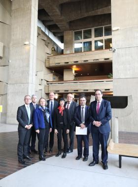 Rencontre avec les chefs de juridiction du tribunal de grande instance de Lille