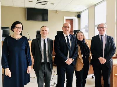 Tribunal de grande instance de Saumur, Mme Crouy Chanel, M. Donnadieu, M. Cabut, Mme Houyvet, M. Cabannes