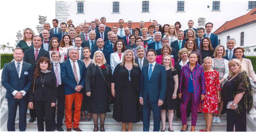 Assemblée générale du Réseau européen des conseils de la justice à Brastislava en Slovaquie, 2019