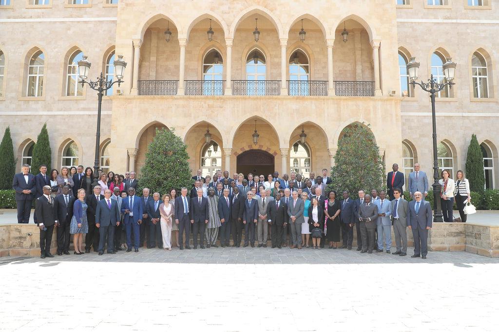 Colloque annuel du Réseau francophone des conseils de la magistrature judiciaire à Beyrouth au Liban, Juin 2019