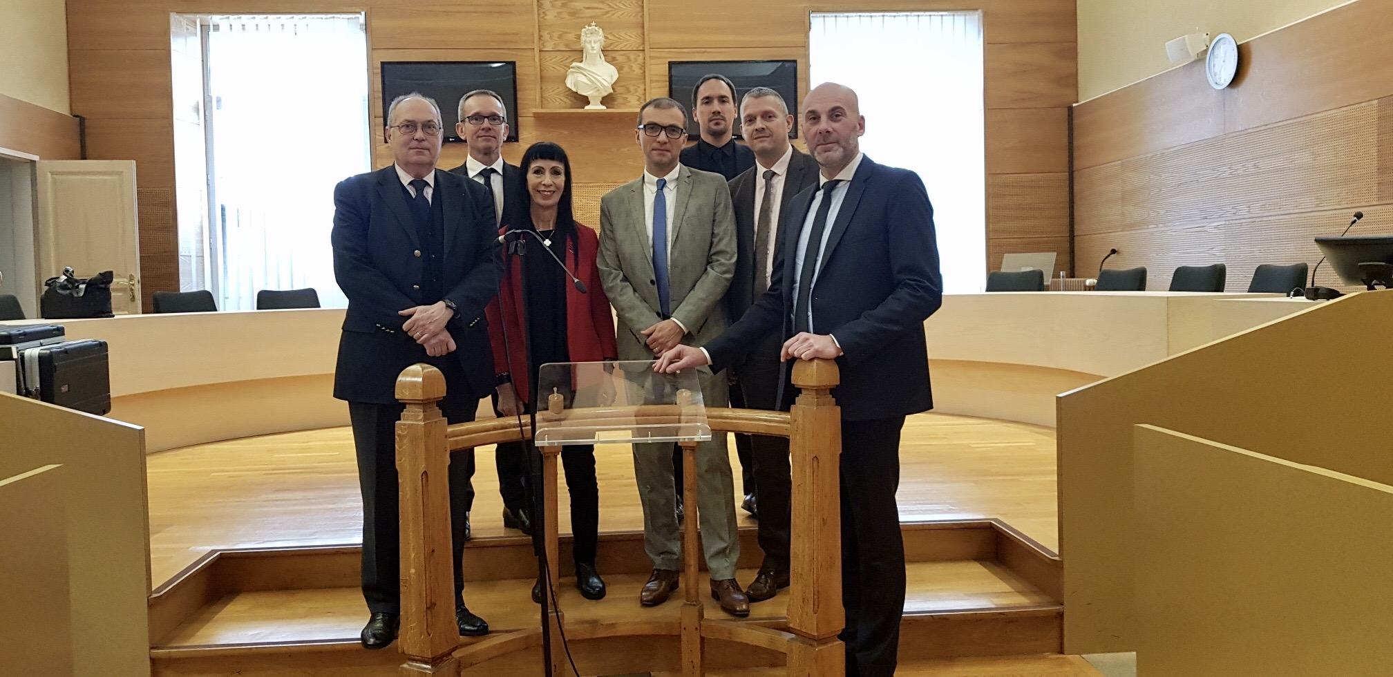 Tribunal de grande instance de Guéret, M. Bergougnous, M. Mayet, Mme Fricero, M. Baron, M. Hurel, M. Sauvage, M. Giraud